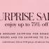 Kate Spade Surprise Sale 又来了,低至75% off!