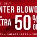 TILLY'S 網店冬季大特賣!額外50% OFF!