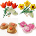 LUSH 2014母親節肥皂系列 花朵造型媽媽絕對喜歡