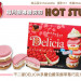 新品偵查 – 不二家DELICIA多層伯爵茶餅草莓巧克力夾心餅