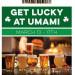 Umami慶祝St. Patrick's Day 全天啤酒僅$5~ (3/13-17)