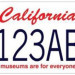 加州開放史奴比(Snoopy)車牌的預定咯,粉絲們快上!