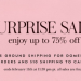 Kate Spade Surprise Sale 又來了,低至75% off!