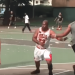 熱血大叔穿全套Jordan球衣打籃球,現在連 Jordan大帝也注意到他…