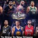 NBA明星賽周日登場 看看眾家球星穿什麼鞋上陣!