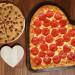 [男士情人节玩命之选] 连锁店推出情人节心型披萨套餐