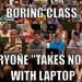 學者:課堂用手機筆電 成績恐變差