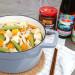 李锦记美味厨房 : 豆腐粉丝煲 + 凉拌什锦菇  初秋的暖心料理