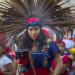 洛杉磯慶祝首次原住民日  市中心整日熱鬧滾滾