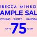 必去!Rebecca Minkoff Sample Sale折扣高達75% Off (7/16-21)