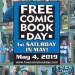 免費漫畫大放送!FREE COMIC BOOK DAY 再度回歸!(5/4)