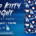 Dodgers x Hello Kitty!参加赛事送可爱Kitty毛毯~ (9/3)