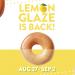 一周限定!只有美国! Krispy Kreme 柠檬糖霜甜甜圈重磅回归啦~