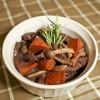 人妻廚房 – 利用電鍋來做紅酒燉牛肉 Beef Bourguignon