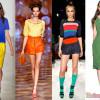 春夏最流行的時尚~色塊裝