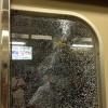 惡搞:日本最強薯條!插爆電車玻璃破碎以致停駛!!!!?