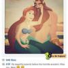 迪士尼公主們趕流行  也開始用Instagram!?