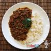 人妻厨房 – 跟着漫画食谱做咖哩—华丽咖哩食桌之印度免治肉咖哩