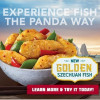 """愚人節變身""""魚片節"""",Panda Express買任意菜餚即可免費獲得""""黃金四川魚""""一份"""