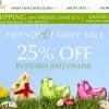Lindt 巧克力Friends & Family Sale 全單25% OFF!(Until 4/17)