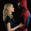 The Amazing Spider Man 2 男女主角於電視節目上即場表演瘋狂濕吻!!!