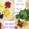 [美肌生活] 絲滑甘藍菜汁 v.s. 甜菜根蔬果汁