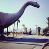 南加一日游♥Cabazon Dinosaur 来跟巨大的恐龙照张相!