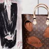 為慶祝Louis Vuitton 160周年紀念 Karl Lagerfeld等名設計師為品牌重新打造別格包包