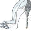 名設計師為Cinderella重新設計玻璃鞋 趕快來看看他們的設計吧!