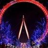 獲 Coca Cola 贊助~The London Eye 英國倫敦眼紅了!