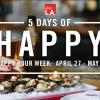 Dine L.A.新搞作! Happy Hour Week讓你天天歡樂時光!(4/27~5/1)