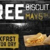 Taco Bell 請你吃Sausage或Bacon Biscuit Taco (5/5 Only)