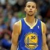 在赛后记者会上抢走勇士队 MVP Stephen Curry 风采的是…