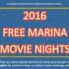 Free Marina Movie Nights 免費電影夜 (7/9 – 8/20)