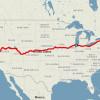 橫跨美國東西岸的火車之旅居然只要___元??!!
