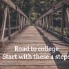 [Dr.Kao专栏] 想上好大学只有好成绩不够  你还需要以下几件事: