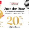 準備剁手!明天開始! Sephora  20%off!  (11/06起)