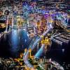 他空拍全球各大都市夜景,大家都覺得美翻了~