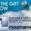 Mountain High買禮卡有特別優惠☃