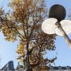 環保太陽能Clover三葉草街燈照亮浪漫巴黎街頭