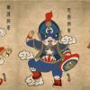 中西合璧創意十足!當超級英雄遇上中國京劇風時……