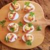 怎麼做出美國國民派對小菜Deviled Egg惡魔蛋😈? 就這麼簡單!
