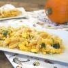 人妻廚房 – 南瓜火雞筆管麵 Pumpkin Turkey Penne