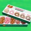 我的老天鵝!Jelly Belly攜手Krispy Kreme推出5種甜甜圈風味的軟心糖豆~
