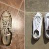 """德州女:創奇蹟! 分享將""""髒鞋變全新"""" 被網友推爆"""