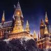 【搶先看】Universal Studios 哈利波特城堡聲光秀「耶誕特別版」影音