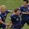 日本2比1胜哥伦比亚 大迫勇也当英雄