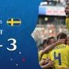 瑞典3比0勝墨西哥 取得分組第1晉級16強