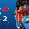 西班牙2比2踢平摩洛哥 B组第一晋级