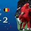 比利時2比1擊退巴西 相隔32年再闖4強